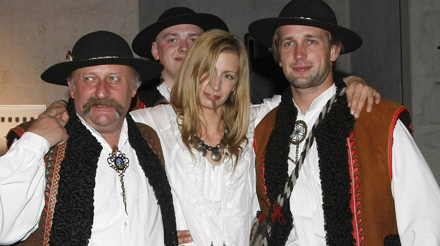 Magda Schejbal już nie tylko w serialu znakomicie czuje się pod Giewontem /fot. Jarosław Wojtalewicz /AKPA