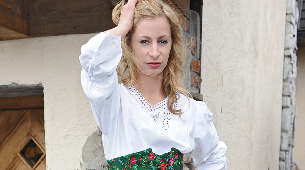 "Magda Schejbal ""po góralsku"" / fot. Andras Szilagyi /MWMedia"