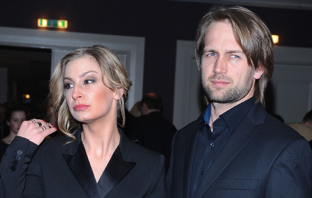 Magda Schejbal z partnerem /Andras Szilagyi /MWMedia