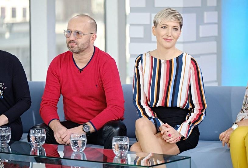 Magda Steczkowska i Piotr Królik mieszkają w domu pod Krakowem /Bartosz Krupa /East News