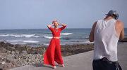 Magda Steczkowska pokazuje kulisy sesji zdjęciowej na Gran Canaria