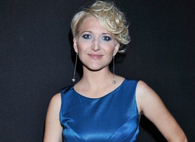 Magda Steczkowska śpiewa z zespołem Indigo - fot. Andras Szilagyi /MWMedia
