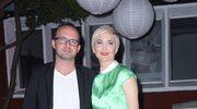 Magda Steczkowska z mężem