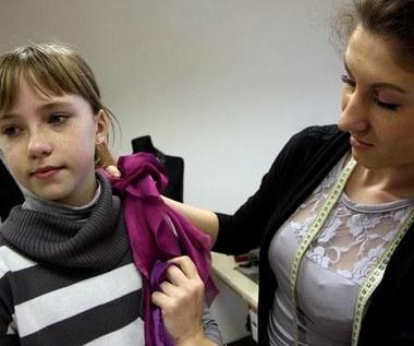 Magda Welc u krawcowej
