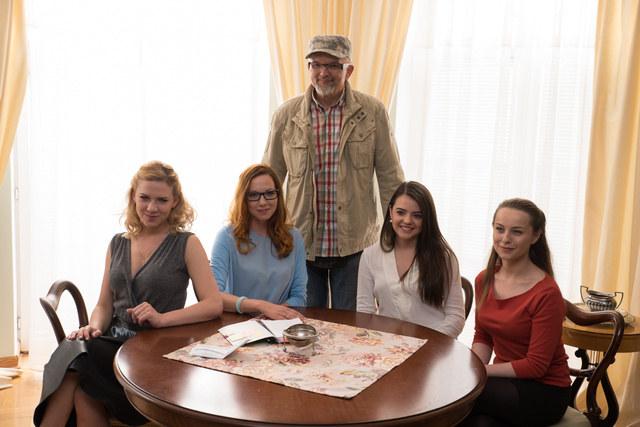 Magda Wróbel, Anna Maria Buczek, Katarzyna Ucherska, Anna Gorajska i Wojciech Adamczyk /Agencja W. Impact