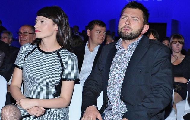 Magda z mężem /Szilagyi /MWMedia