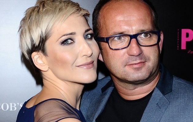 Magda z mężem /- /MWMedia