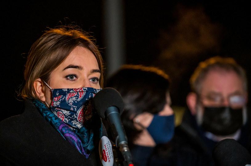 Magdalena Adamowicz w Gdańsku /Marcin Bruniecki/ Reporter /Reporter