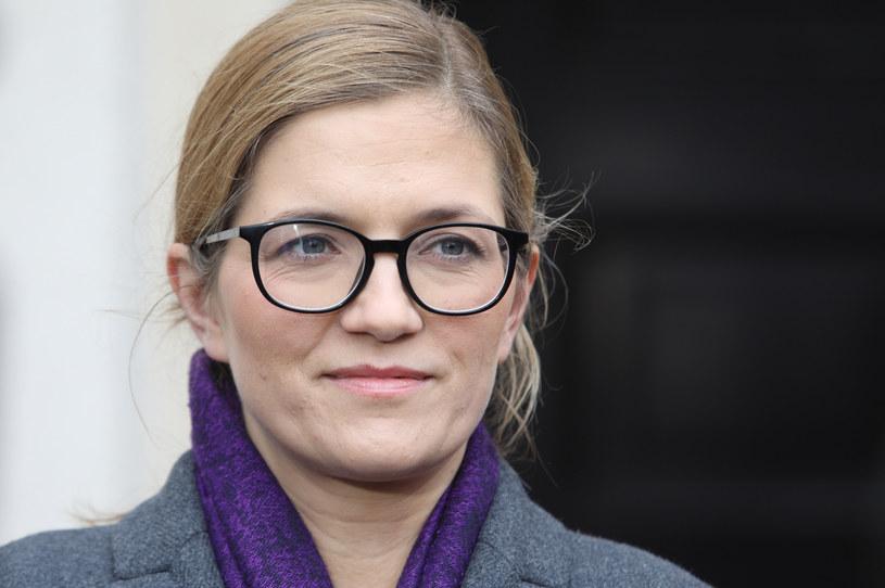 Magdalena Biejat (Lewica) /Tomasz Jastrzębowski /Reporter