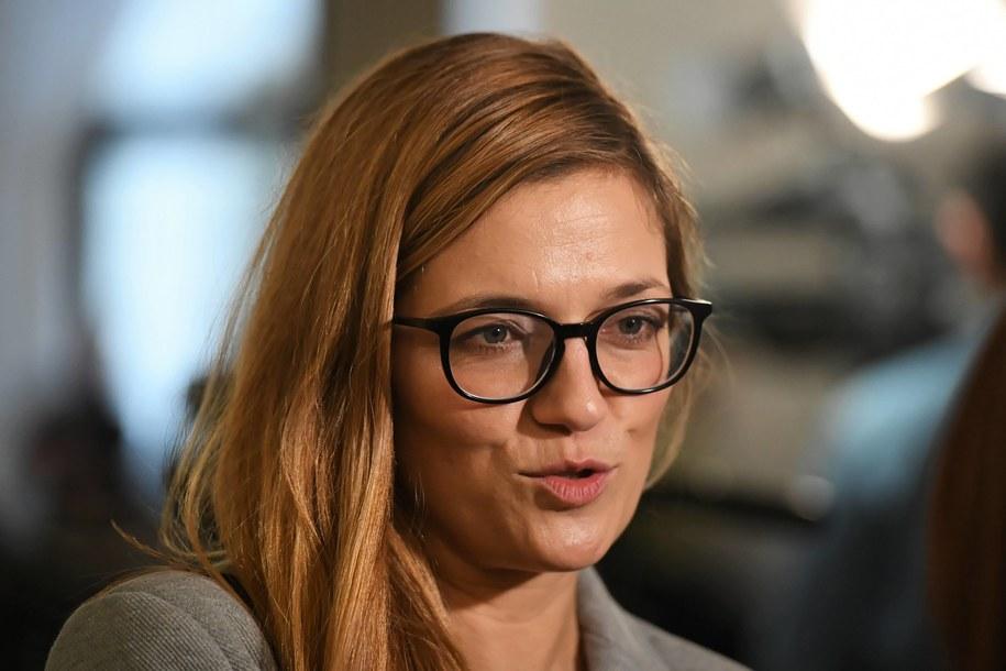 Magdalena Biejat / Radek Pietruszka   /PAP