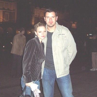 Magdalena Boczarska (Ania) i Tomasz Karolak (Michał) /INTERIA.PL