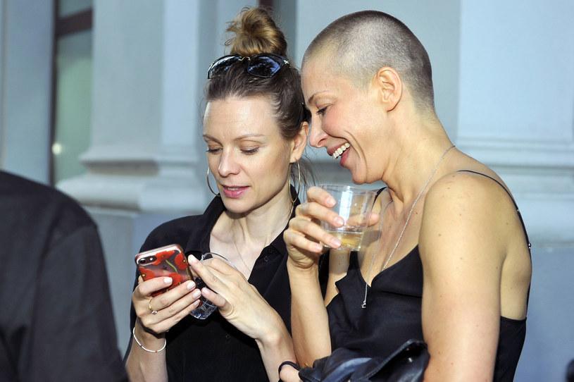 Magdalena Boczarska i Kasia Warnke /Niemiec /AKPA