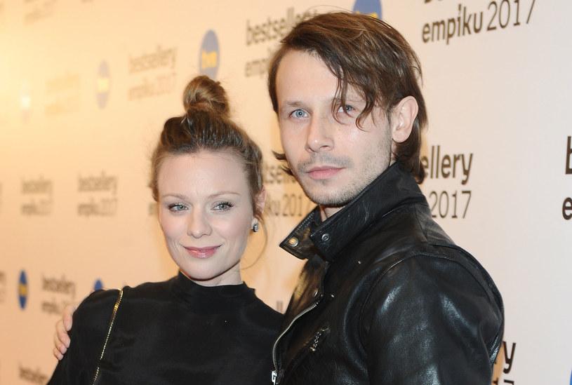Magdalena Boczarska i Mateusz Banasiuk. Warszawa /MWMedia