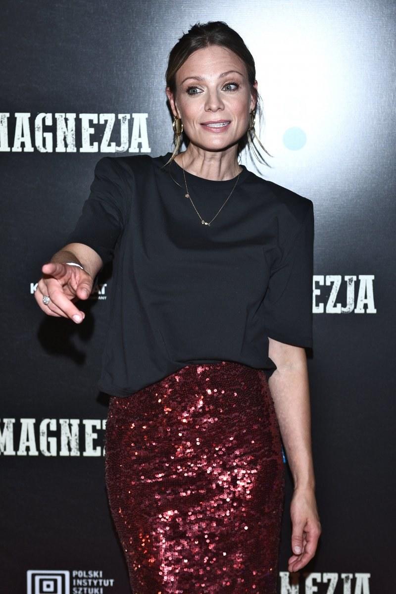 Magdalena Boczarska ma idealną figurę. Aktorka niemal każdego dnia pływa /MWMedia