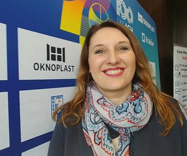 Magdalena Cedro-Czubaj o wsparciu Oknoplastu dla młodych koszykarzy. Wideo