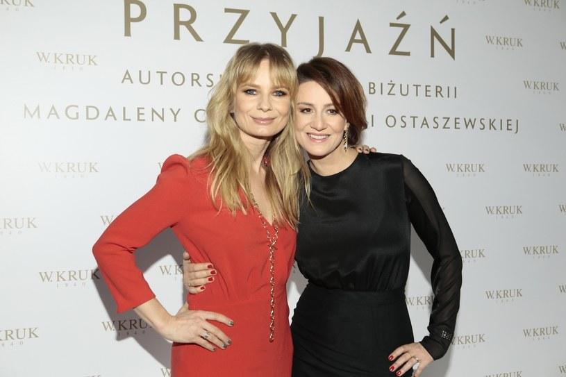 Magdalena Cielecka i Maja Ostaszewska /Jankowski/REPORTER /East News