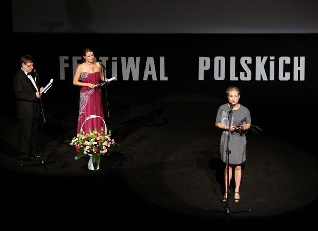 Magdalena Cielecka odbiera Nagrodę dla Najbardziej Stylowej Aktorki /materiały prasowe