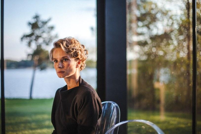 """Magdalena Cielecka (""""Pakt"""") /Piotr Książek /HBO"""