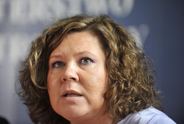 Magdalena Gaj, prezes UKE. Fot. Lech Gawuc /Reporter