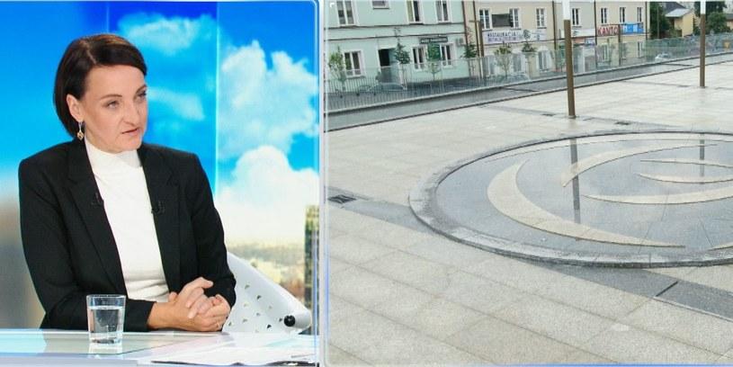 Magdalena Gawin, wiceminister kultury i dziedzictwa narodowego /Polsat News /