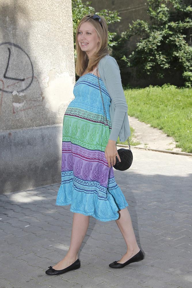 Magdalena Górska w 2011 roku powitała na świecie córkę Ninę /Jarosław Wojtalewicz /AKPA