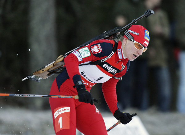 Magdalena Gwizdoń nie popisała się na strzelnicy /AFP