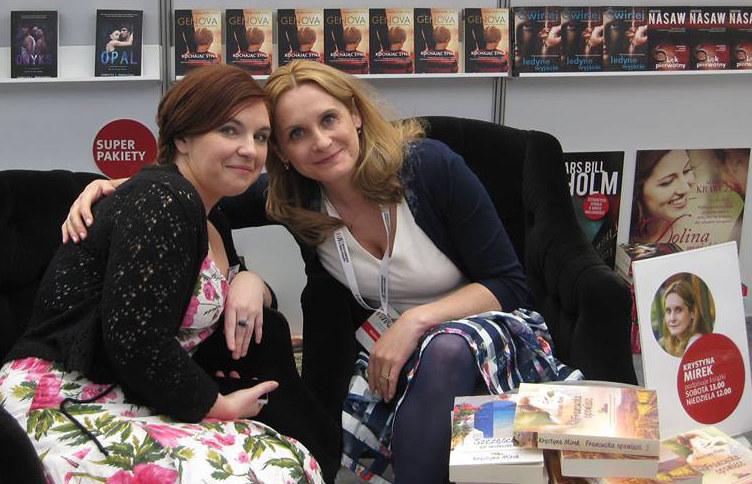 Magdalena Kordel (po lewej) i Krystyna Mirek - autorki bestsellerowych książek obyczajowych /archiwum prywatne