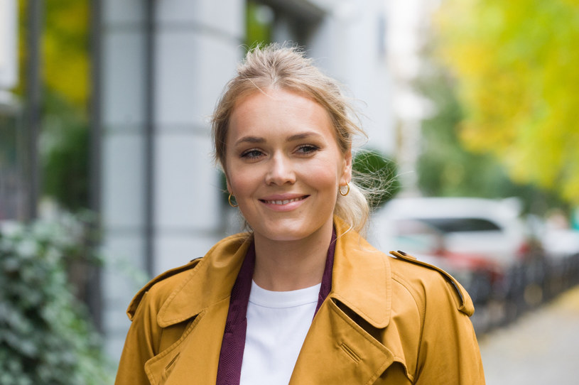 Magdalena Lamparska dużo ostatnio pracuje /Artur Zawadzki/REPORTER /East News