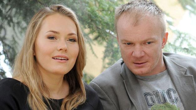 Magdalena Lamparska i Eryk Lubos /Agencja W. Impact