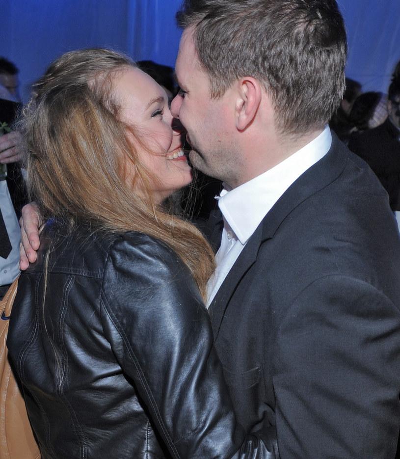 Magdalena Lamparska i Tomasz Karolak /VIPHOTO/EAST NEWS  /East News