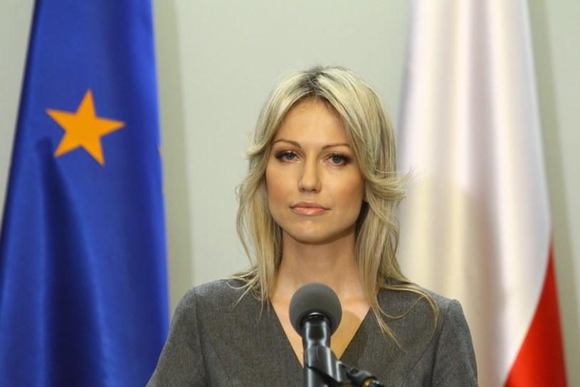 Magdalena Ogórek chce być reprezentantką mody /Stanisław Kowalczuk /East News