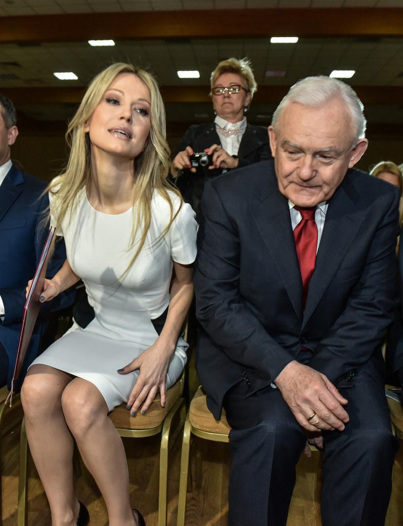 Magdalena Ogórek i Leszek Miller /Jacek Domiński /Reporter