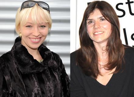 Magdalena Piekorz i Małgorzata Szumowska na festiwalu w Gdyni /INTERIA.PL