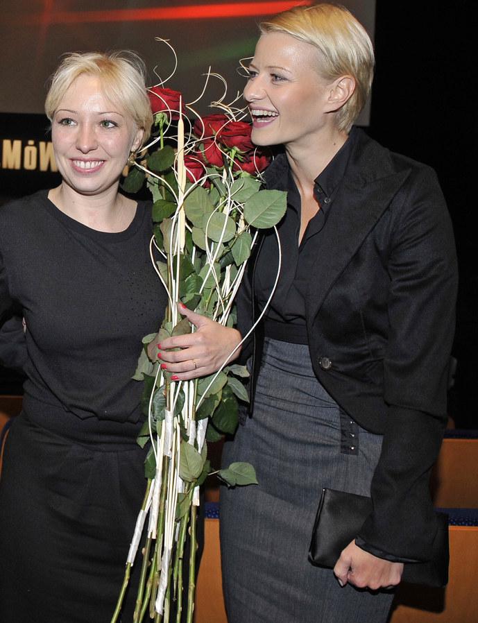Magdalena Piekorz, Małgorzata Kożuchowska, 2008 rok /Kurnikowski /AKPA