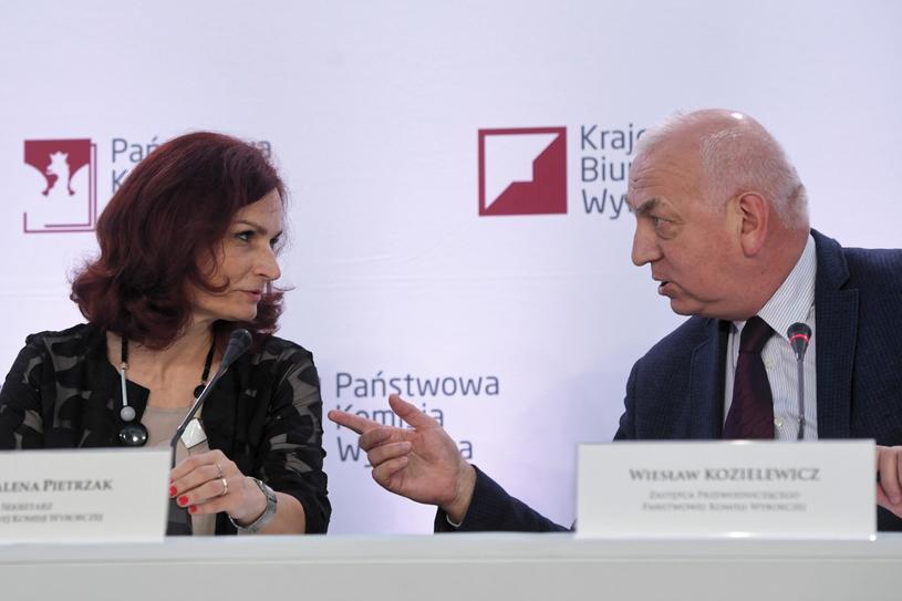 Magdalena Pietrzak i Wiesław Kozielewicz /Radek Pietruszka /PAP