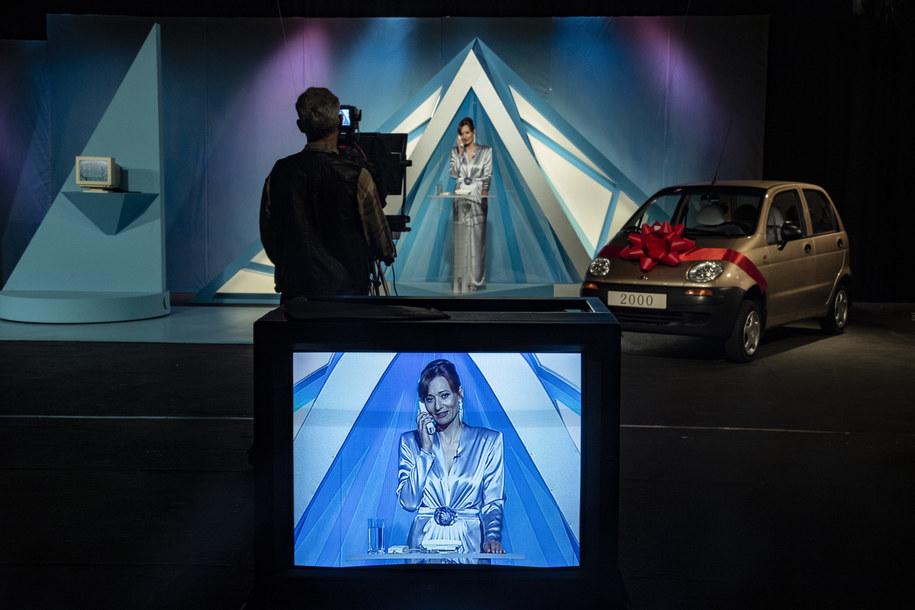 Magdalena Popławska na planie filmu /fot_ Tomasz Kaczor/Watchout Studio /Materiały prasowe