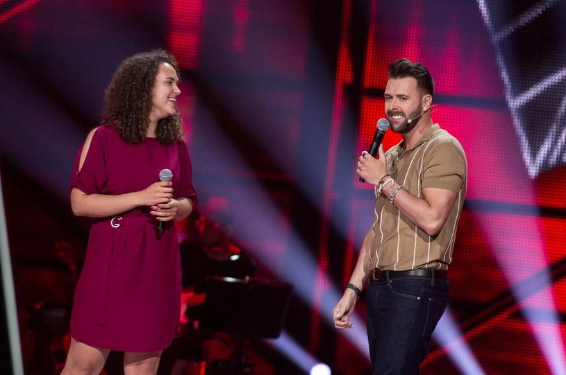 Magdalena Putkowska i Grzegorz Hyży w duecie /TVP