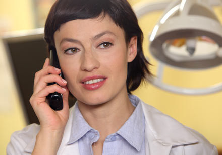 Magdalena Różczka zagra dentystkę Ewę /Polsat