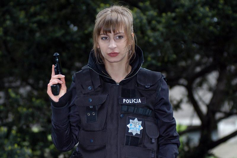 """Magdalena Schejbal w """"Kryminalnych"""" /Niemiec /AKPA"""