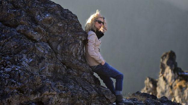 Magdalena Schejbal w swych ukochanych Tatrach, fot. Marcin Łobaczewski /Twój Styl