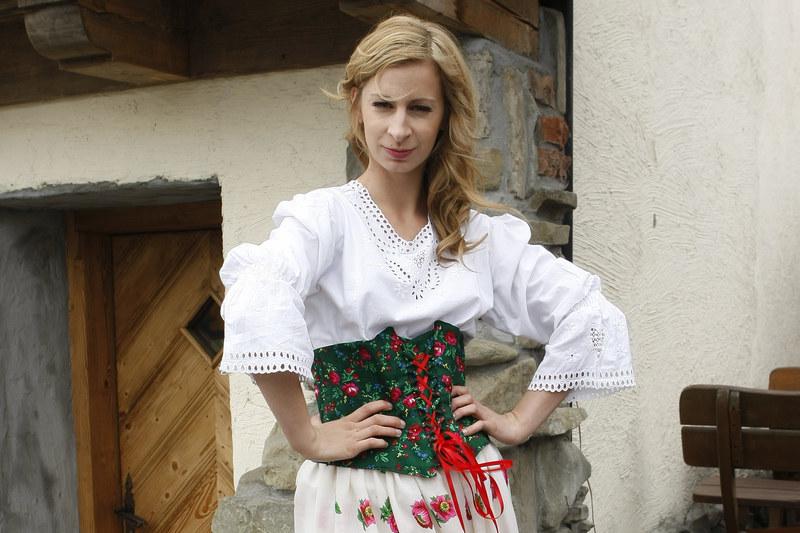 """Magdalena Schejbal w """"Szpilkach na Giewoncie"""" /Engelbrecht /AKPA"""