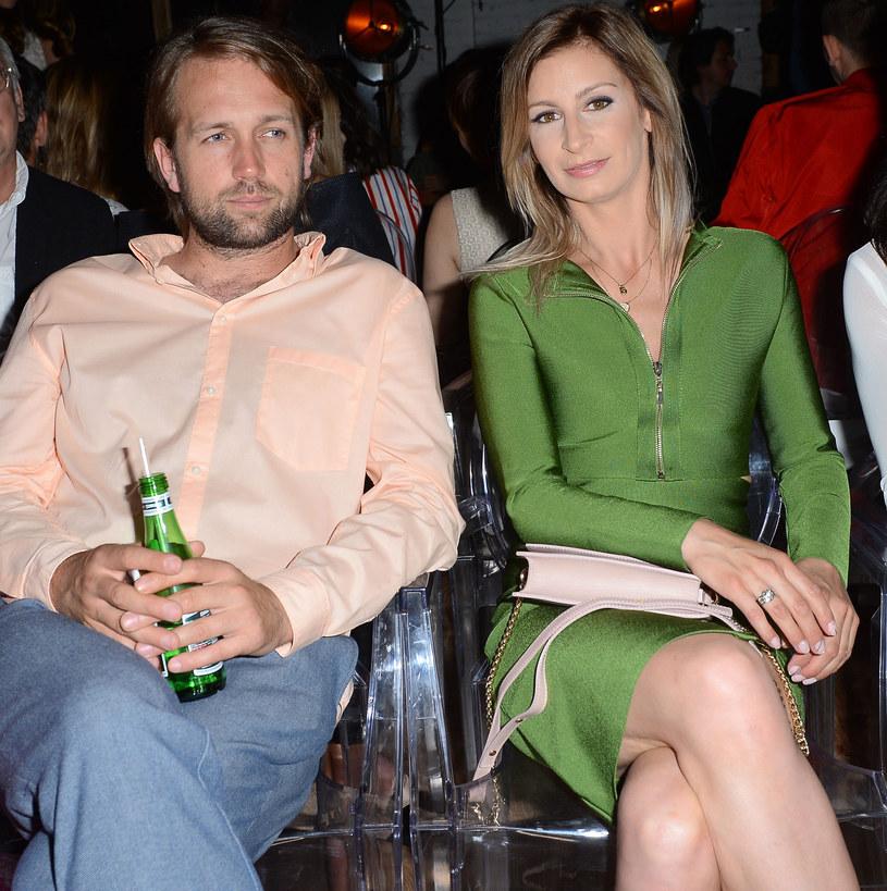 Magdalena Schejbal z partnerem Sławomirem Ziębą-Drzymalskim /Jarosław Antoniak /MWMedia