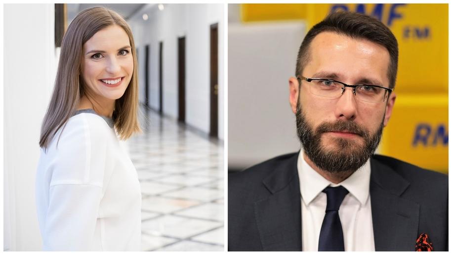 Magdalena Sobkowiak i Radosław Fogiel /RMF FM /RMF FM
