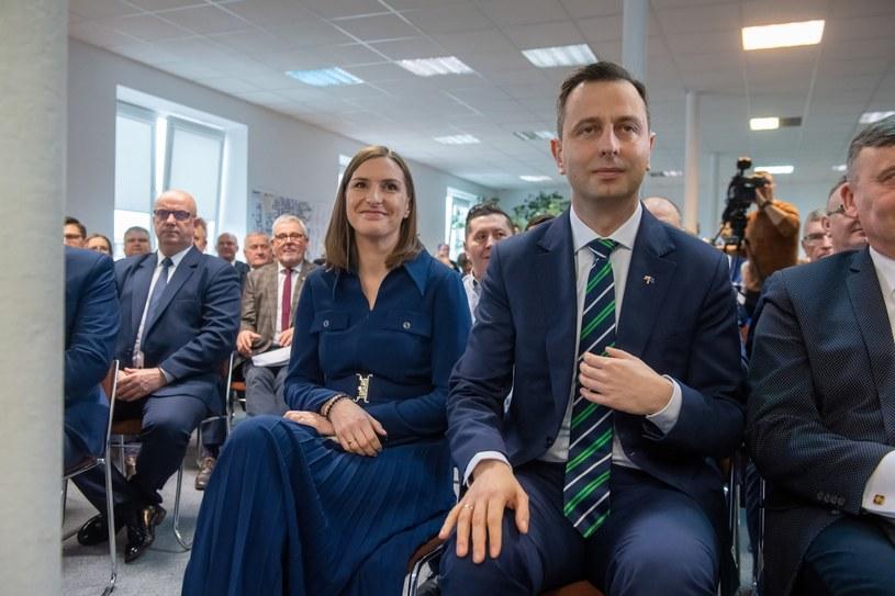 Magdalena Sobkowiak i Władysław Kosiniak-Kamysz /Grzegorz Michałowski   /PAP