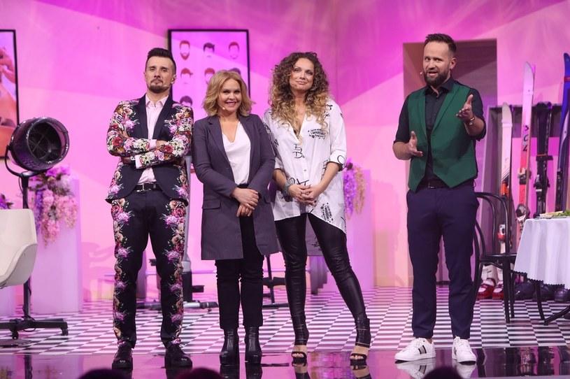 Magdalena Stużyńska i Joanna Liszowska rozśmieszały publiczność pierwszego odcinka! /Polsat