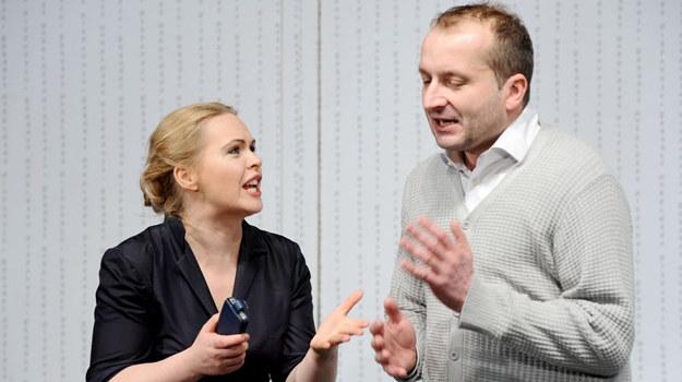 Magdalena Stużyńska i Robert Górski /fot  /Agencja W. Impact