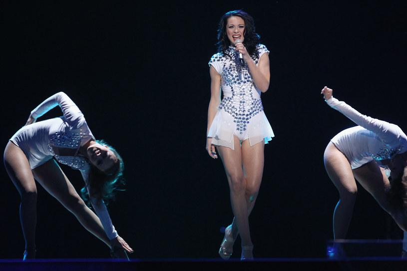Magdalena Tul podczas półfinału Eurowizji w 2011 roku /Sean Gallup /Getty Images
