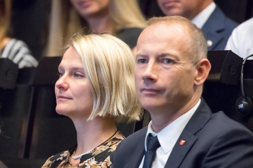 Magdalena Wałęsa i Lech Artur Wałęsa /Wojciech Stróżyk /Reporter
