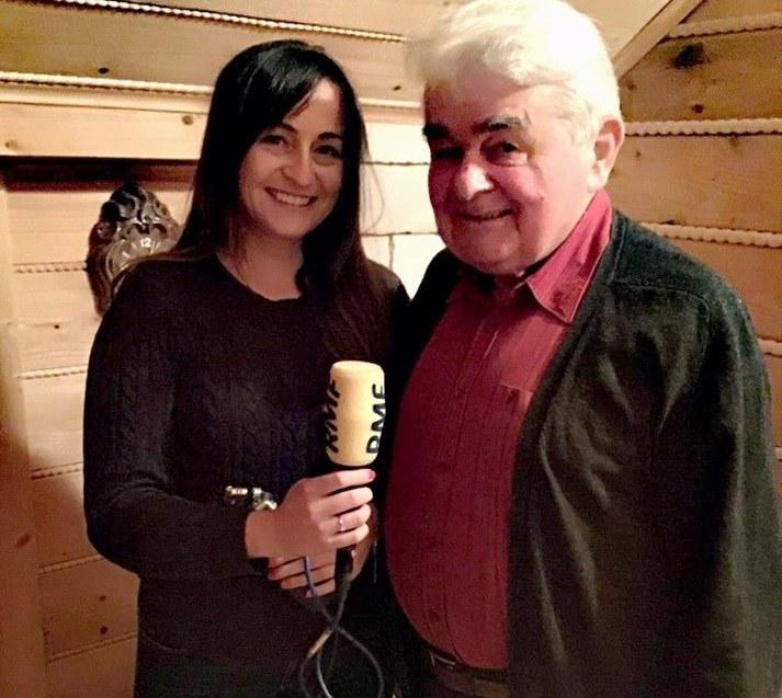 Magdalena Wojtoń i Pan Kazimierz Rozenbeiger /RMF FM