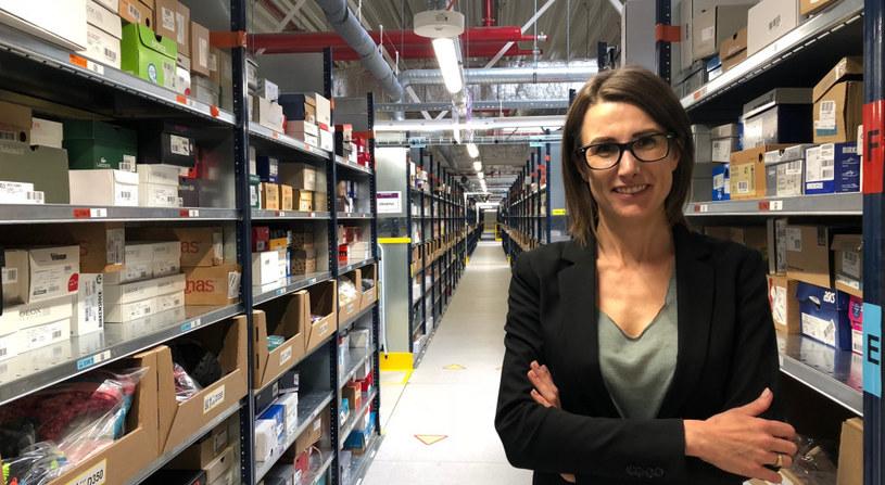 Magdalena Zagrodnik z działu HR firmy Amazon. /materiały prasowe